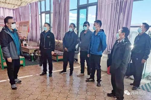 日喀则市委常委、统战部部长边巴扎西深入萨嘎县督导调研宗教领域工作