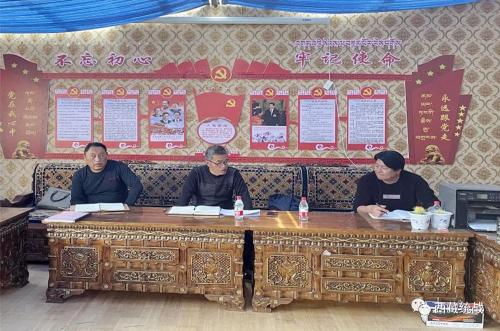 那曲市宗教事务局党组副书记,局长段武赴巴青县开展督导检查工作