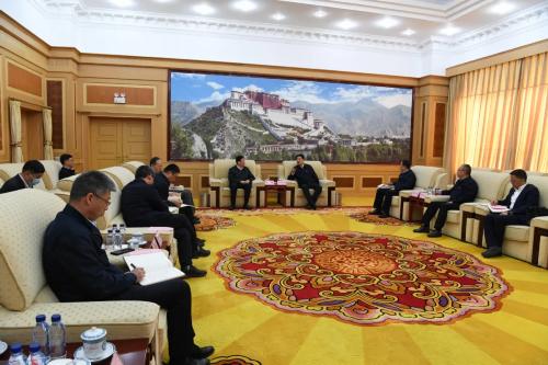 吴英杰与国家能源集团党组书记、董事长王祥喜座谈