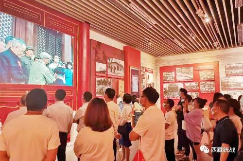 拉萨市党外知识分子 民营经济 新的社会阶层代表人士参观红色教育基地重温红色记忆