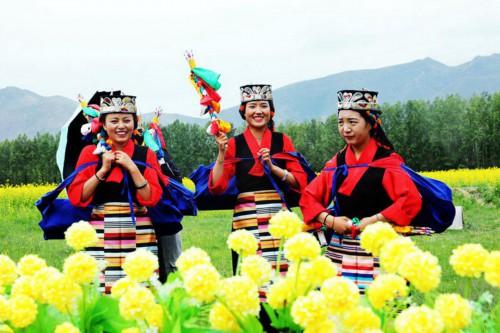 """花开西藏:松赞故里 幸福""""油""""你"""