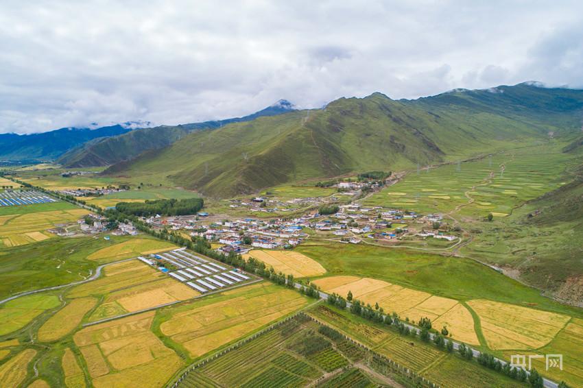 【走进乡村看小康】西藏塔巴村:村美陶美人更美