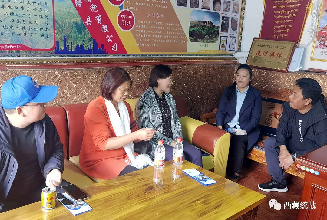 湖北省襄阳市民营企业援藏考察组深入琼结县考察调研