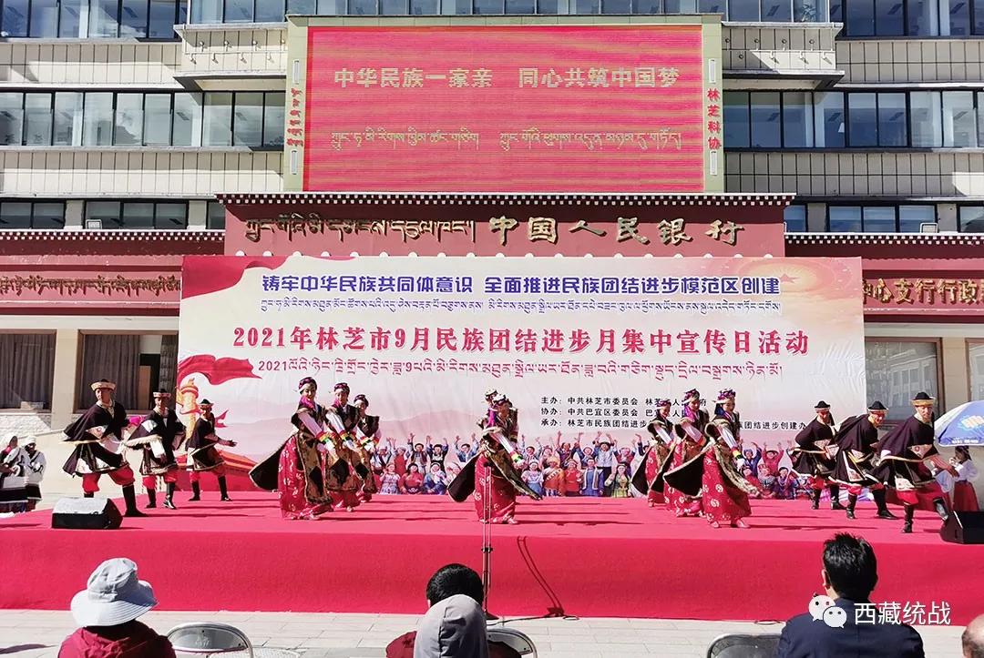 林芝市巴宜区开展民族团结进步宣传月集中宣传系列活动