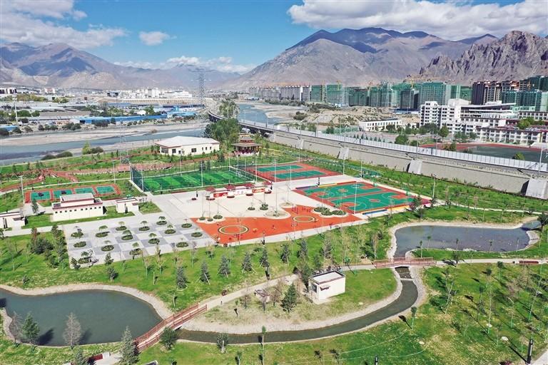 拉萨市堆龙德庆区建成首个体育公园 提高群众生活质量