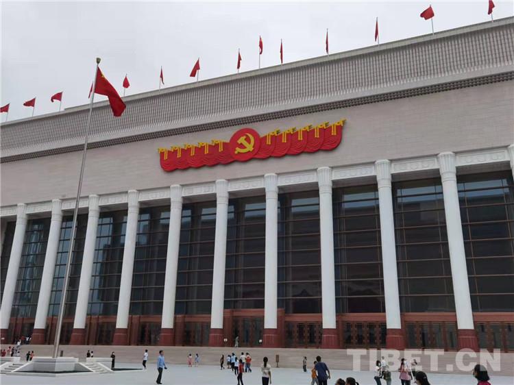 组图:走进中国共产党历史展览馆