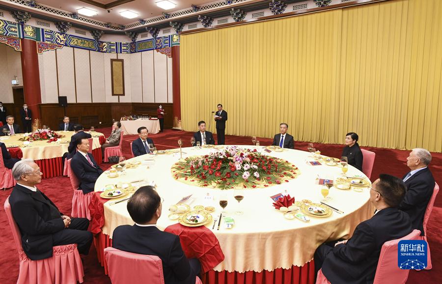 纪念辛亥革命110周年招待会在京举行 汪洋出席