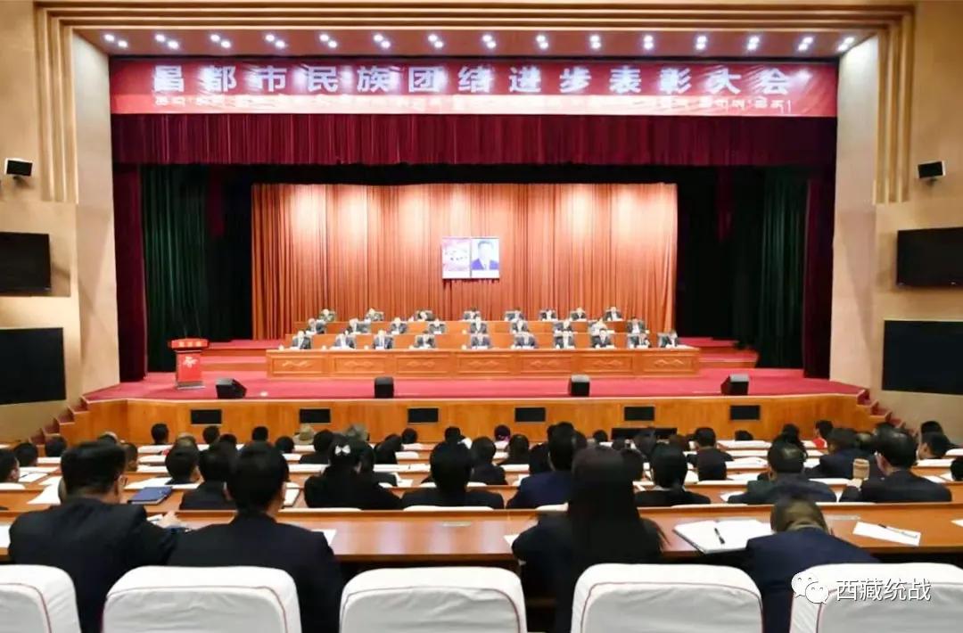 昌都市召开民族团结进步表彰大会