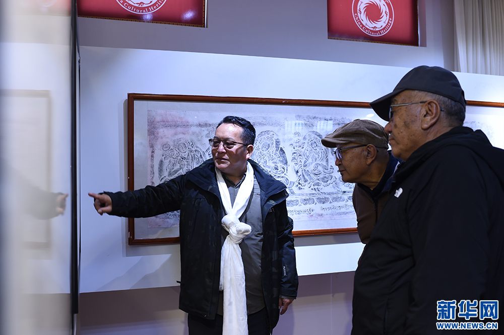 西藏历代金石铭文拓片见证民族团结