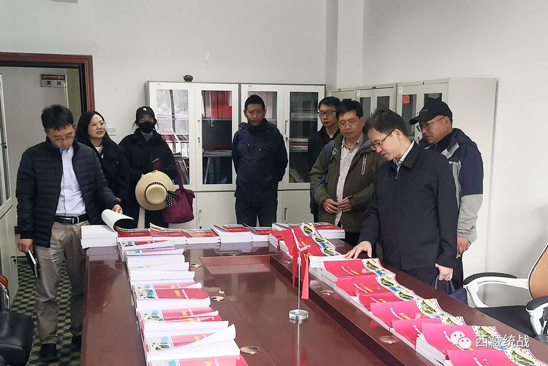 自治区党委统战部副部长黄志辉赴比如县调研民族工作
